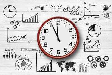 Uhr / Zeit / Business - Konzept