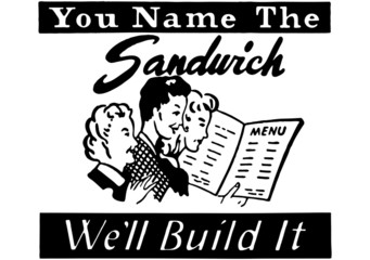 You Name The Sandwich