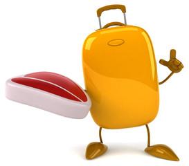 Fun suitcase