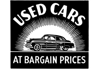 Used Cars At Bargain Prices