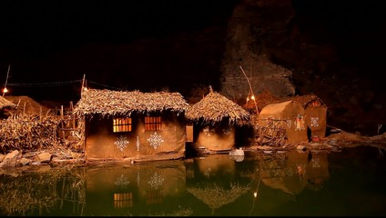 Holiday Resort night  in Rajasthan India