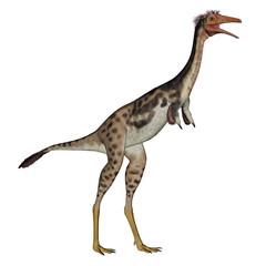 Mononykus dinosaur standing - 3D render