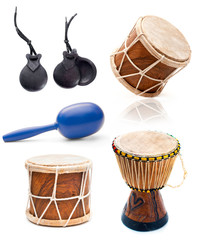 African drums and percussion