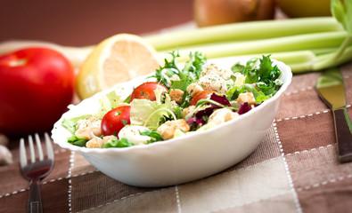 delicious vegetarian salad