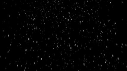 loopable snowfall alpha