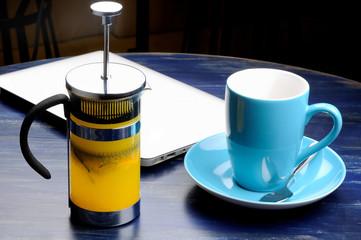 Herbal tea with rosmary and sea buckthorn