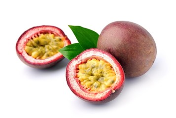 Passion exotic fruits.