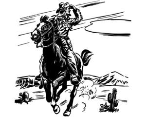 Sheriff On Horse