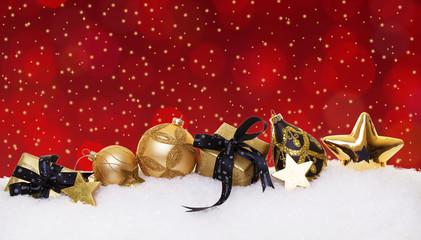 festliche weihnachtsgeschenke hintergrund