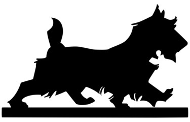 Scottie Dog Silhouette