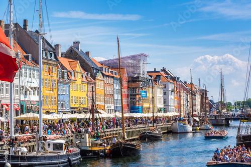 Foto op Aluminium Scandinavië Copenhagen, Nyhavn