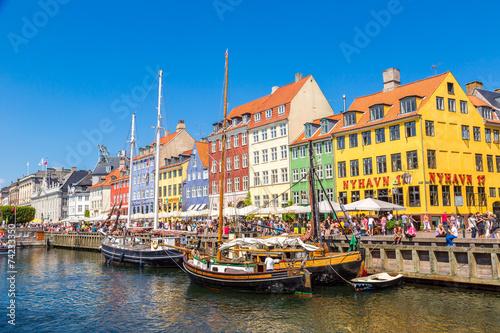 Staande foto Scandinavië Copenhagen, Nyhavn