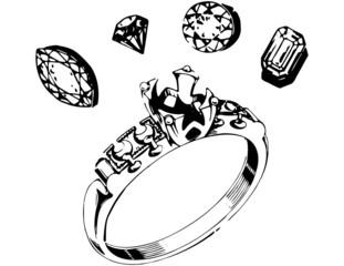 Ring Setting & Gems