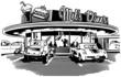 Retro Diner - 74233774