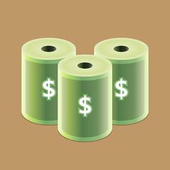 Money Roll Icon