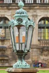 lantern on the Dresden Art Gallery