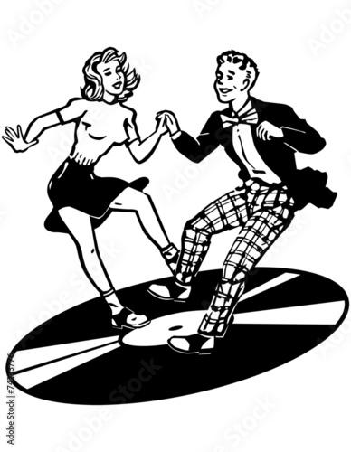 Retro Dancers - 74233776