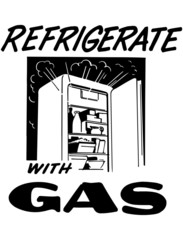 Refrigerate With Gas