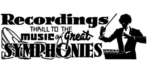 Recordings Symphonies