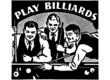 Постер, плакат: Play Billiards