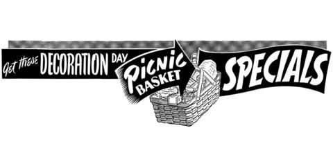 Picnic Basket Specials
