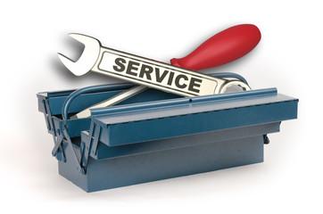 Service Werkzeugkasten