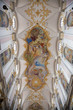 Interior of St. Peter's Cathedral in Munich, Bavari, Germany