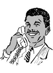 Man On The Phone 3