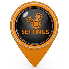 Setting pointer icon on white background