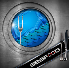 Seafood - Menu Design