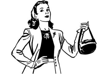 Lady With Handbag