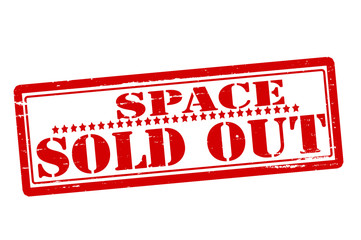 Space sold out