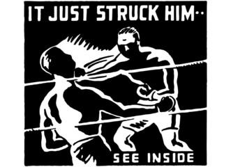 It Just Struck Him