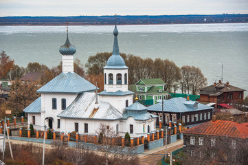 Rostov, Russia. Image of ancient Rostov city, view from the top