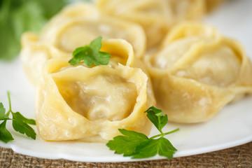 boiled manti