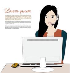women operater
