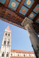 The Cathedral of St. Lawrence at Trogir on Croatia