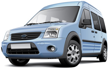 American compact minivan