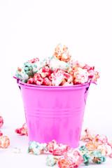 colourful popcorn