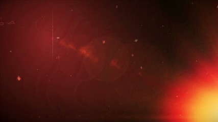 red noise background