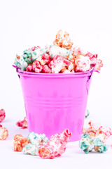 colourful popcorn