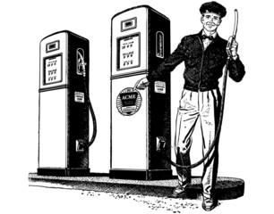 Gas Station Attendant 2