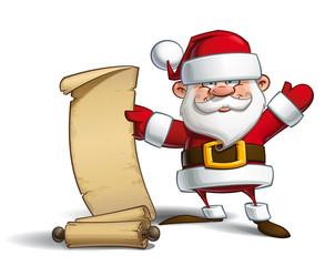 Happy Santa - Gift List