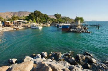 Harbour of Ein Gev