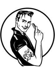 Fifties Greaser