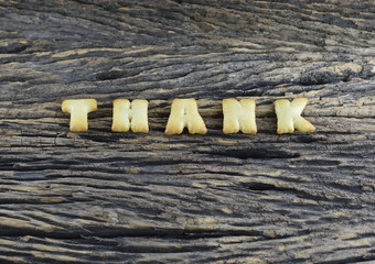 An image of Thank