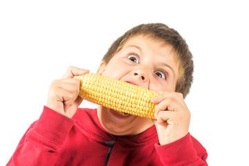 child and organic food