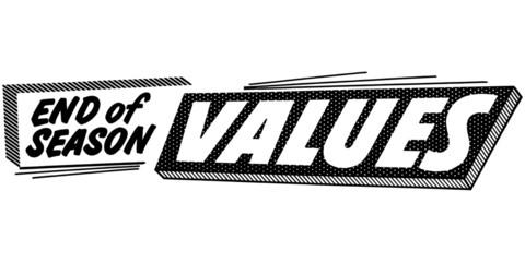 End Of Season Values
