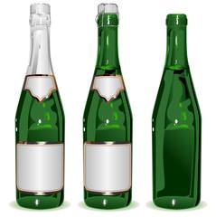 Set bottle of Champagne