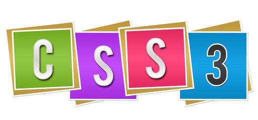 CSS Three Colorful Blocks